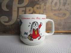 Vintage Cathy Woman on the Move Cathy Guisewite Novelty Humor Mug on Etsy, $11.00