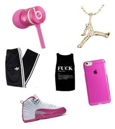 """""""I Don't Care"""" by jalen-rose718 on Polyvore featuring Beats by Dr. Dre, Agent 18 and adidas"""