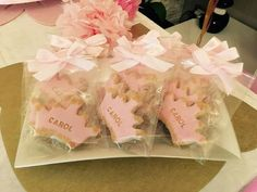 princess cookies... baby first birthday