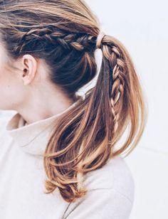 Les Tresses Trendy De La Saison Coiffure Et Beaute Pinterest