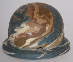 Ozark Pottery Mission Swirl Dome Shaped Incense Burner By Charles Stehm from Just Art Pottery