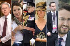 (L-R) David Manning, Rebecca Deacon, Jamie Lowther-Pinkerton, Amanda Turner, Nick Loughran, Miguel Head