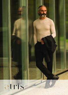 Angenehme Hüfthose mit Bundfalten und Aufschlag am Saum – für Business und Freizeit. www.etris.ch/produkt/bagoo Normcore, Suits, Style, Fashion, Fall Winter, Hemline, Trousers, Swag, Moda