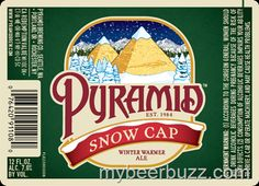 mybeerbuzz.com - Bringing Good Beers & Good People Together...: Pyramid - Snow Cap Winter Warmer 2014