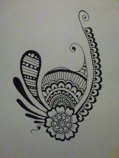 Black felt tip pen, size A5