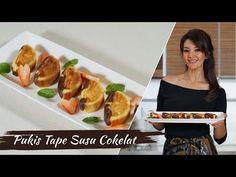 Farah Quinn - Pukis Tape Susu Cokelat - YouTube Baked Potato, French Toast, Pizza, Snacks, Baking, Book, Breakfast, Ethnic Recipes, Tapas Food