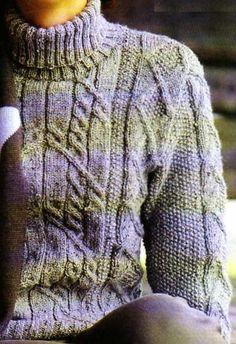 En laine peignée, cet irlandais est de ceux que l'on garde dans son armoire à jamais et que l'on ne sort, inséparable complice de toutes les journées en plein air, que pour les moments de détente. Tailles : 38/40 - 42/44 - 46 Aiguilles : 3 et 4 Le pull...