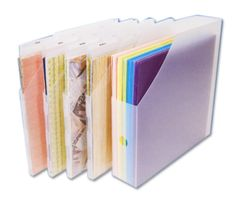 Nice for 12 x 12 Storage. Cropper Hopper Vertical Storage Value Pack at Scrapbook.com $19.99