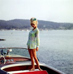 Brigitte Bardot  (1960's) by What Makes The Pie Shops Tick?, via Flickr