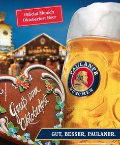 Cerveza Oficial Oktoberfest Paulaner Cerveza Paulaner, Beer Label, Germany, Mugs, Tableware, Art, Wine, El Salvador, Beverages
