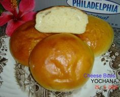 Yochana's Cake Delight! : CHEESE BUNS