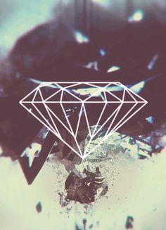 iPhone wallpaper -- Diamond Supply Co