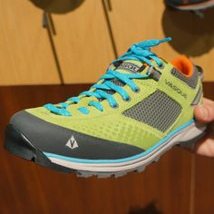 Vasque Grand Traverse Hiking Shoes - they have some awesome colors! The shoes are great for all conditions. #hiking