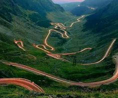 Carpathian Mountains: the Transfagarasan road built in the as strategic military road after the 1968 invasion of Czechoslovakia by the Soviet Union. In the Fargas mountains in the heart of Romania, it connects Vallachia and Transylvania. Places Around The World, Around The Worlds, Visit Romania, Romania Travel, Romania Tours, Beautiful Roads, Destination Voyage, Winding Road, Bulgaria