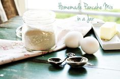 Back to School Breakfast {Recipe: Pancake Mix}