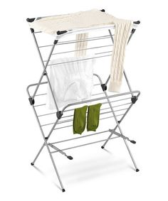 Two-Tier Mesh Top Drying Rack by Honey-Can-Do #zulily #zulilyfinds