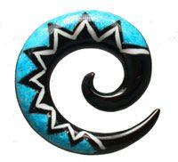 Turqouise Ear Spiral HITEX02