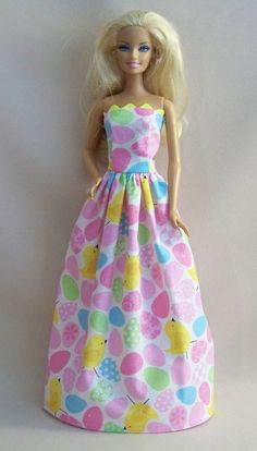 Handmade Barbie Clothes Easter Eggs and by PersnicketyGrandma, $7.00