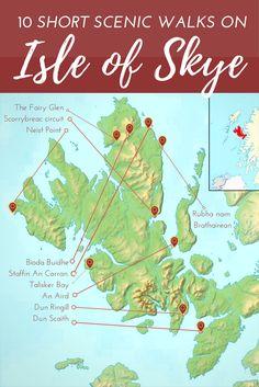 Short Scenic Walks on Isle of Skye