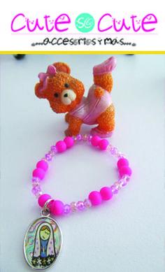 A las niñas también les gustan las pulseras!!! Ésta sería un buen regalo para las pequeñas de la casa  #CuteSoCute