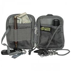 The Voodoo Tactical MOLLE Compact BDU Black Wallet is sized down to fit in a regular pants pocket. Voodoo Tactical, Tactical Bag, Molle Gear, Bag Patches, Edc Bag, Tote Backpack, Army & Navy, Black Wallet, Everyday Carry