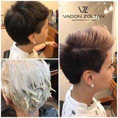 """0 kedvelés, 1 hozzászólás – Vadon Zoltán (@vadon.zoltan) Instagram-hozzászólása: """"Rövid haj bűvöletében,játékos színekkel a mai ajánlatom. Hogy tetszik? Örülök mikor egy nő mer…"""""""