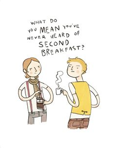 Hipster Hobbits by Noelle Stevenson  I want the BIG one ;P