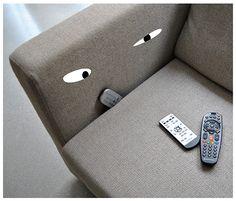 Sofa monster funny Haunted Household | Christoph Niemann