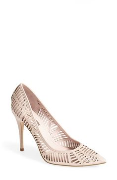 BCBGeneration+'Ovation'+Laser+Cut+Pointy+Toe+Pump+(Women)+available+at+#Nordstrom
