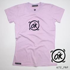 """O K"". Ladies Tees. Flock Black by @eiffashion | Code : 672_PRP | IDR. 85.000 | Only Size S | Order text to : 08195125968 / pin: 22F33330. E : silvas_clothing@yahoo.com  #silvasoriginals #eiffashion #tees #ladiesfashion #poliflex #kaos #tumblrtees #kaostumblr #apparel"