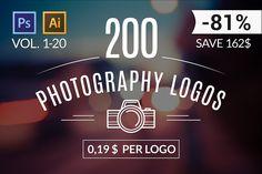 200 photography logo