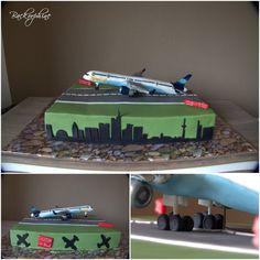 Plane Cake - Flugzeugkuchen