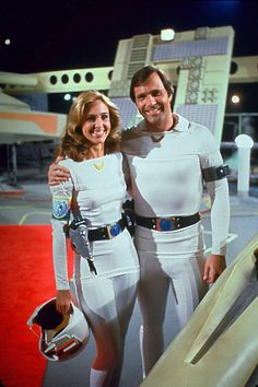 Wilma and Buck from Buck Rogers in the 25th Century (1979).
