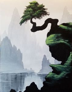 Hey! Check out Bonsai Cliffs at Ward Johnson Winery - Paint Nite Event