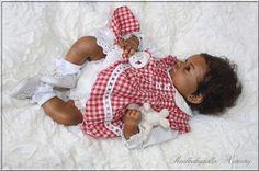 Amazing Ethnic Baby Girl Rosie O Auer Reborn Realbabydolls Nursery | eBay