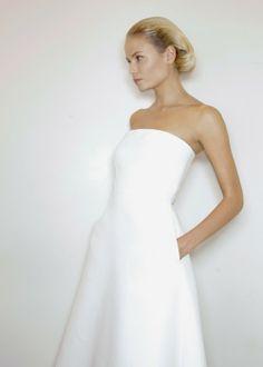 sleek, jill sander  Love the simplicity of line