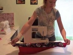 This is a tutorial for a tube pillowcase with french seams that a friend and I did together. Please take a look and share it with whoever you like. Thanks. :)