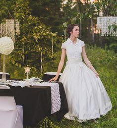 Modest Fairy Tale 2 Piece Ball Gown Wedding Dress | Ieie's Bridal Wedding Dress Boutique https://www.ieiebridal.com/collections/modest-wedding-dresses