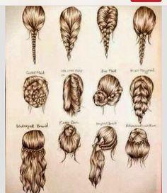 Easy Hair Styles!!