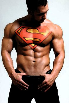 Superman - Cyd you need to check out this board --- http://pinterest.com/andynyc/photography-of-men/