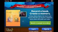 A Story Before Bed personalized storybook app.