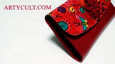 Leather Purses, Red Leather, Leather Wallet, Large Purses, Black Purses, Leather Crafting, Handmade Wallets, Designer Wallets, Wallets For Women Leather