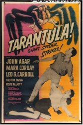 """cvtreasures just acquired this incredible vintage Sci Fi movie poster  , one of our very favorites. """"Tarantula"""".... www.cvtreasures.com"""