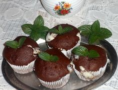 Čokoládové muffiny s mascarpone - Recept