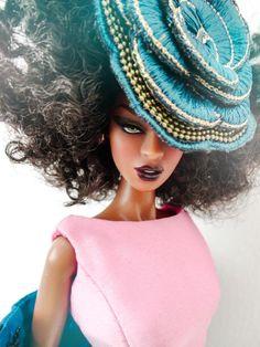 Pinterest: keedrajackson Barbie I, Black Barbie, Dolls Dolls, Diva Dolls, Ebony Models, Black Baby Dolls, Human Doll, Black Royalty, Beautiful Black Babies