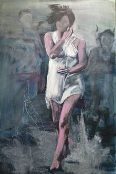 "Saatchi Art Artist jacqueline hoebers; Painting, ""Summer of 69"" #art"