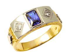Anel de formatura astronomia  em ouro 18k 750 com 2 diamantes de 2 ponto cada e 1 pedra semi preciosa, detalhe em ouro branco.