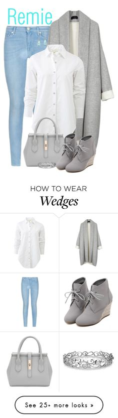"""""""Remie"""" by animationchic on Polyvore featuring 7 For All Mankind, rag & bone, WithChic, Effy Jewelry, women's clothing, women, female, woman, misses and juniors"""