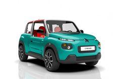 Cars - Citroën E-Mehari : renaissance électrique de l'icône du loisir automobile... - http://lesvoitures.fr/citroen-e-mehari/