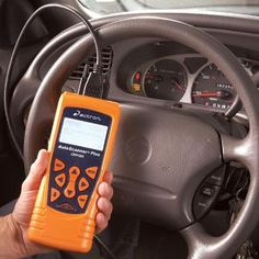 Diagnose car problems without going to a mechanic with an auto code reader. Simply plug it into the car's computer system, then interpret the trouble code readout.